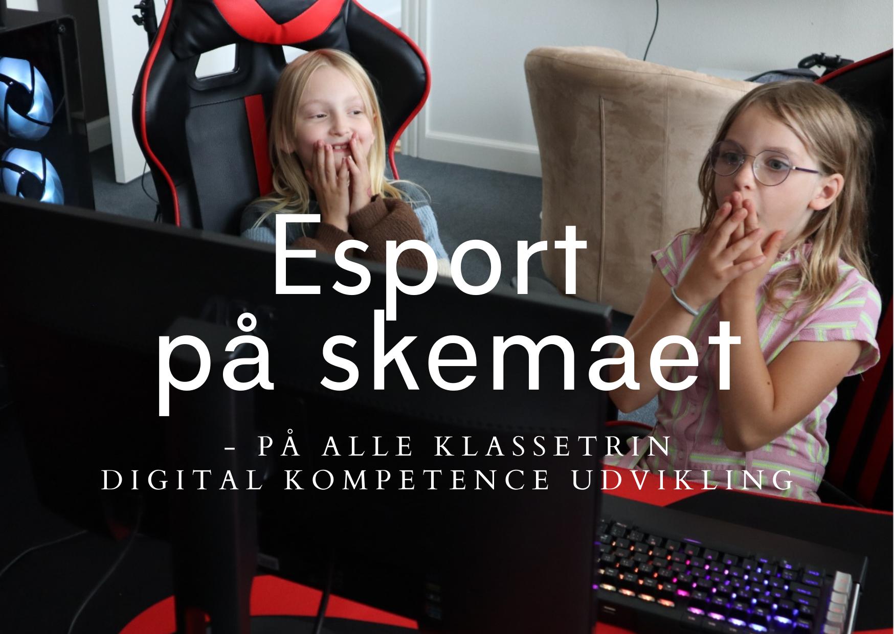 Hillerød Privatskole, nu med Esport på skemaet!