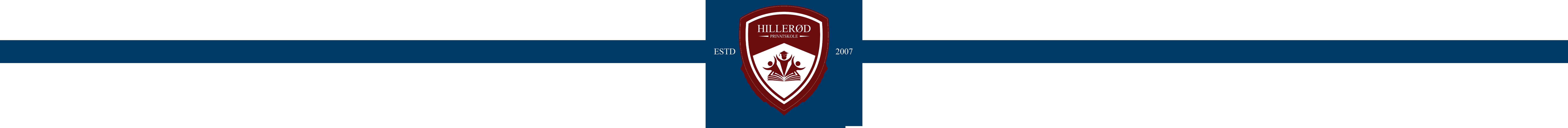 Hillerød Privatskole logo-long-band-both