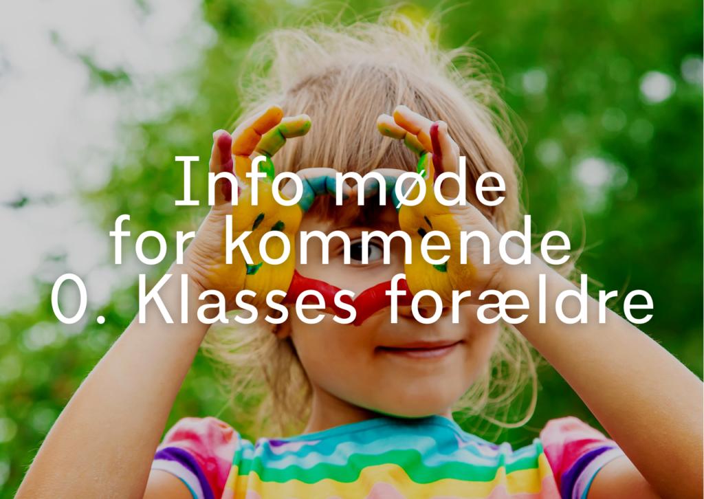 Infomøde for kommende 0. klasses forældre på Hillerød Privatskole